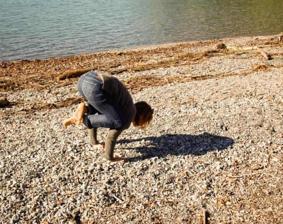 Asanas at the Lake