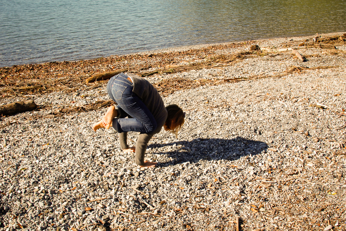Asanas at the Lake