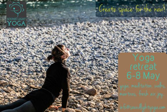Create space! Yoga retreat May 2016