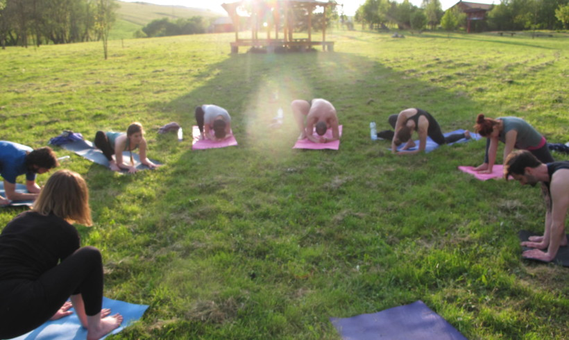 We had it all: Pictures of our yoga retreat