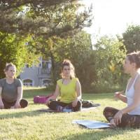 yoga outdoors budapest