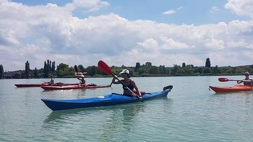 Balaton kayak-yoga