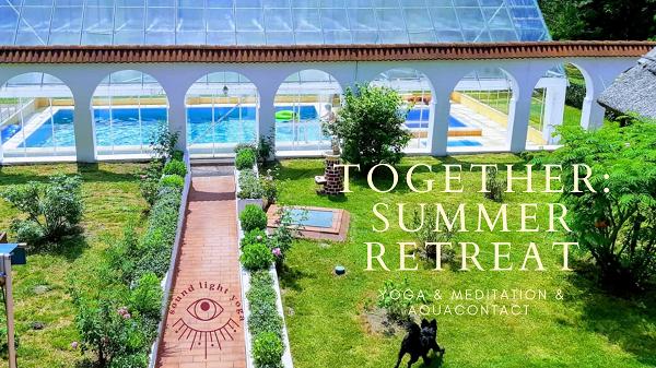 summer yoga retreat cover