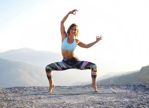 energizing yoga pose