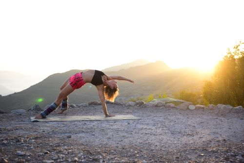 wild thing yoga pose to energize your back